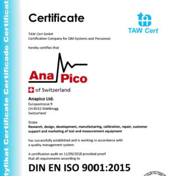 Anapico_ISO_90012015