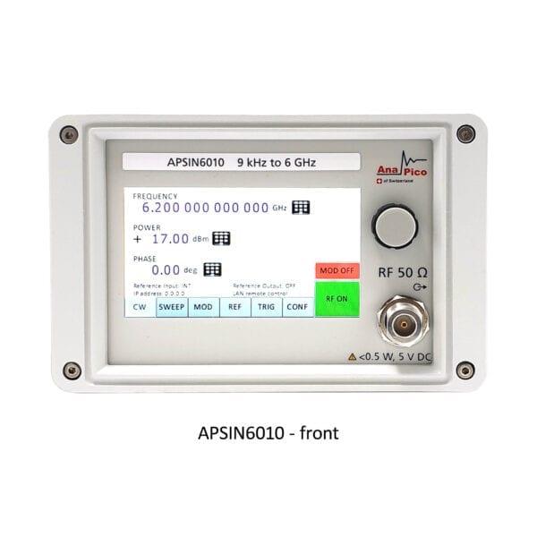 anapico-signal-generator-analog-front-panel