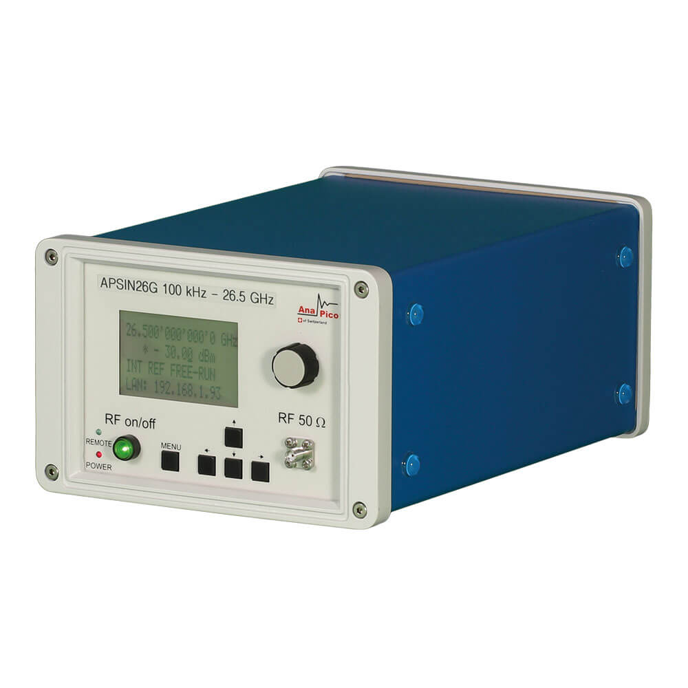 AnaPico-APSIN26G-Single-Channel-Analog-Signal-Generator