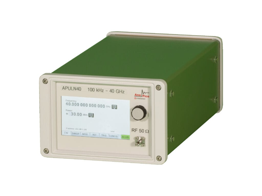 AnaPico-Microwave-Single-Channel-Analog-Signal-Generator