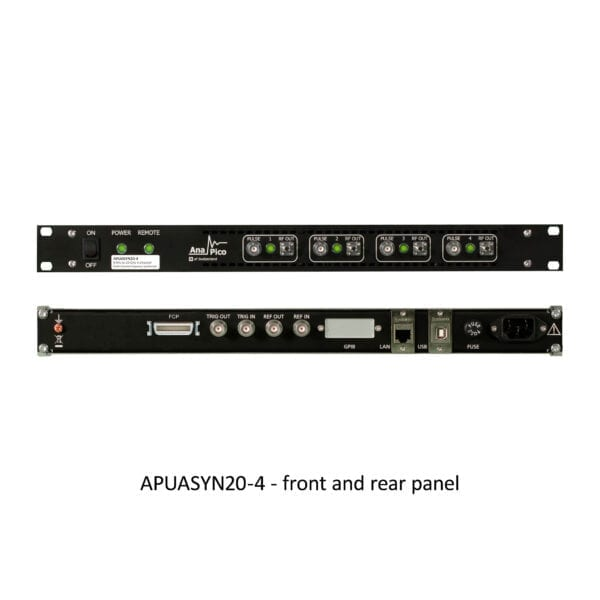 anapico-ultra-agile-frequency-synthesizer-multi-channel-front-rear-panel
