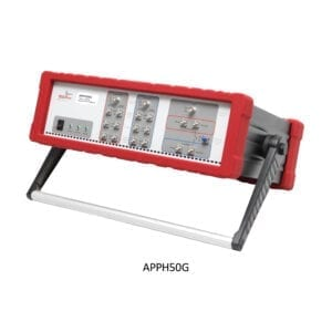 AnaPico phase noise analyzer with a frequency range from 1 mhz up to 65 ghz. The unit is made and tested in Switzerland.